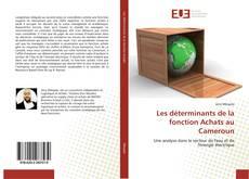 Capa do livro de Les déterminants de la fonction Achats au Cameroun