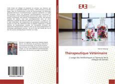 Thérapeutique Vétérinaire kitap kapağı