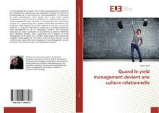 Capa do livro de Quand le yield management devient une culture relationnelle