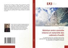 Copertina di Relation entre contrôle interne et notoriété des cabinets d'audit