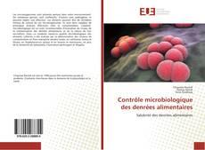 Bookcover of Contrôle microbiologique des denrées alimentaires