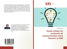 Bookcover of Etude critique du protocole de communication entre Siemens et ABB