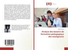 Couverture de Analyse des besoins de formation pédagogique des enseignants
