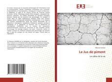 Bookcover of Le Jus de piment