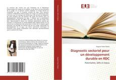 Bookcover of Diagnostic sectoriel pour un développement durable en RDC