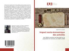 Impact socio-économique des activités的封面