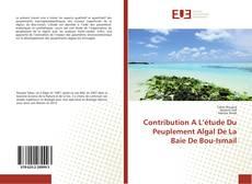 Обложка Contribution A L'étude Du Peuplement Algal De La Baie De Bou-Ismail
