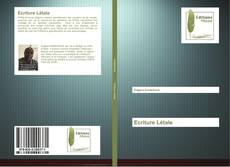 Bookcover of Ecriture Létale
