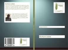 Buchcover von Ecriture Létale