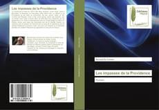 Bookcover of Les impasses de la Providence