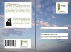 Capa do livro de Paul Mba Abessole