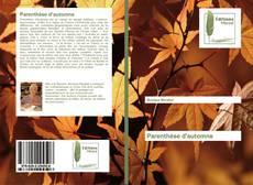 Bookcover of Parenthèse d'automne