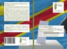 Capa do livro de Missions et Eglises en Afrique hier et aujourd'hui