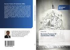 Portada del libro de Success Factors Of Cambodian SMEs