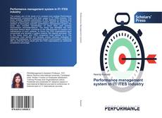Capa do livro de Performance management system in IT/ ITES industry