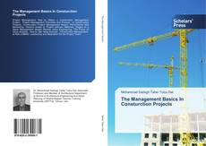 Bookcover of The Management Basics In Consturction Projects