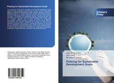 Bookcover of Policing for Sustainable Development Goals