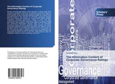 The Information Content of Corporate Governance Ratings kitap kapağı