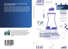 Bookcover of Economical Production Technique for High Power Density SOFC