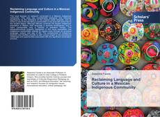 Buchcover von Reclaiming Language and Culture in a Mexican Indigenous Community