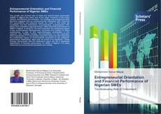 Portada del libro de Entrepreneurial Orientation and Financial Performance of Nigerian SMEs