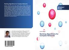 Bookcover of Ranking Algorithms for Complex Networks