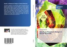 Portada del libro de Hands on Research Design in Social Sciences