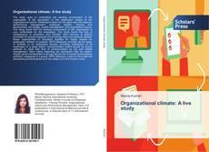 Copertina di Organizational climate: A live study