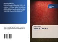 Copertina di History of Kyrgyzstan