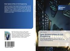 Copertina di Solar System & Role of Civil Engineering