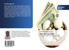 Capa do livro de Risk Management