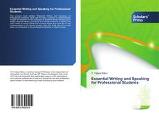Buchcover von Essential Writing and Speaking for Professional Students