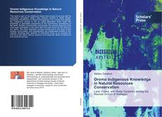 Capa do livro de Oromo Indigenous Knowledge in Natural Resources Conservation