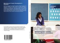 Capa do livro de Mentoring and Teacher Development in Education