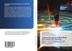 Bookcover of Thermomechanical Modelling Of Friction Stir Welding