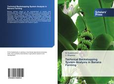Bookcover of Technical Backstopping System Analysis in Banana Farming