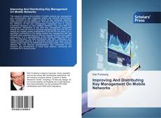 Capa do livro de Improving And Distributing Key Management On Mobile Networks