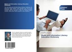 Bookcover of Media and Information Literacy Education Dictionary