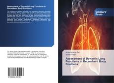 Bookcover of Assessment of Dynamic Lung Functions in Recumbent Body Positions