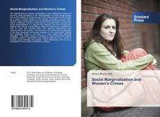 Bookcover of Social Marginalization and Women's Crimes