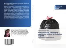 Bookcover of Evaluación del sistema de gestión de RSU en la ciudad de Capiatá