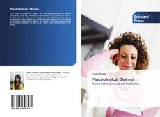 Bookcover of Psychological Distress