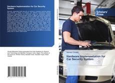 Capa do livro de Hardware Implemnetation for Car Security System