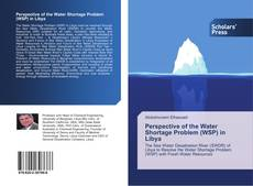 Capa do livro de Perspective of the Water Shortage Problem (WSP) in Libya