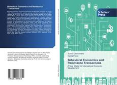 Capa do livro de Behavioral Economics and Remittance Transactions