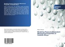 Bookcover of Modeling Pressure Dependent Mechanical Properties of GaAsSb Alloys