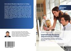 Copertina di International Students Adjustment to College