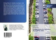 Capa do livro de Parking Policy for Vadodara city,Gujarat, India