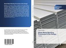 Capa do livro de Sheet Metal Bending Processes & Die Design