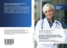 Capa do livro de Human Factors Engineering Mutation and Hepcidin in Beta-Thalasseima